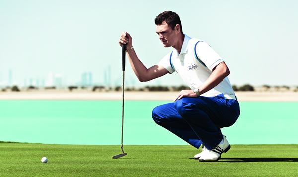 bestbewertet billig glatt strukturelle Behinderungen Hugo Boss teams up with world number one golfer Martin ...