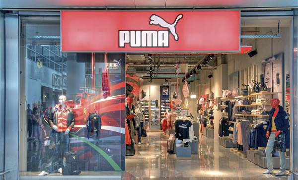 Puma strides into Brussels Airport 050908 The Moodie