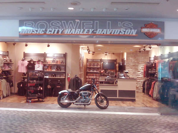Harley Davidson Nashville >> Hudson Group S Boswell S Music City Harley Davidson Store