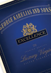 George karelias excellence cigarettes cheap heets amber 200