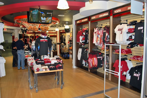 info for defc7 feedb The Heat goes on in Miami as NBA team's first airport store ...