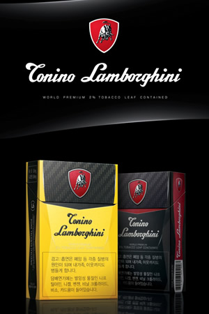 KT&G targets new markets with Tonino Lamborghini cigarettes